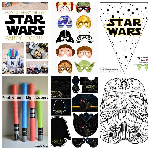 13 recursos para una fiesta Star Wars ¡Mi niño grande cumple 10!