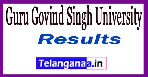 Guru Govind Singh University Result 2018 GGSIPU Results 2018