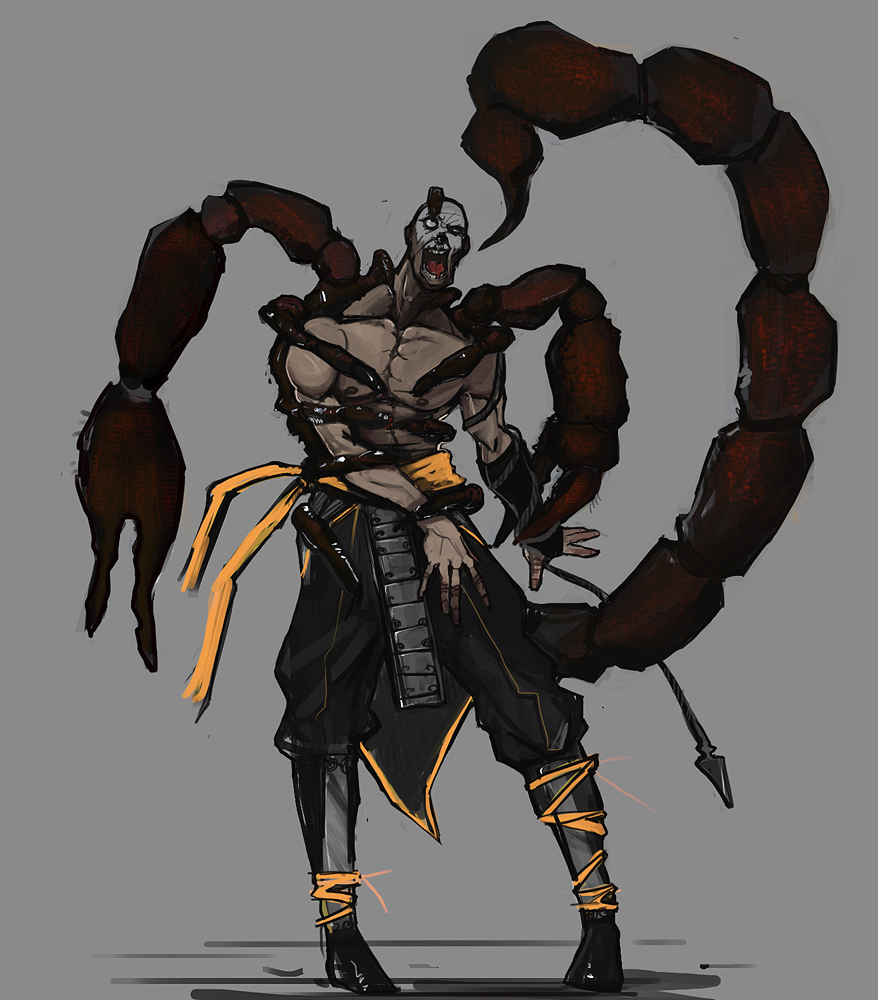 FIGHTER] Mortal Kombat - Scorpion - Rolob — polycount