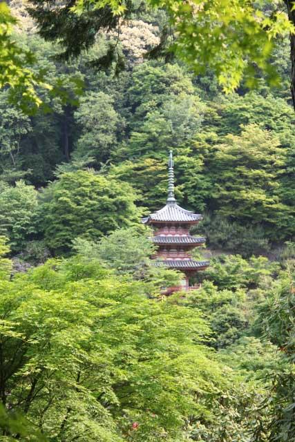 Mimurotoji Temple, Uji, Kyoto.