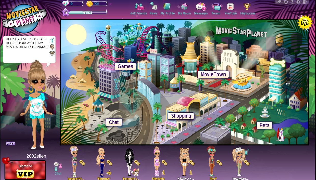 Movie Star Planet Fame Fortune And Friends Elzaays Blog