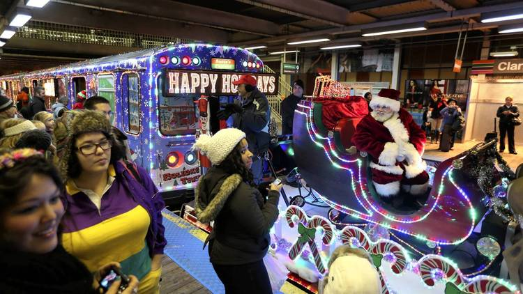 Chicago Cta  Holiday Train Bus Schedule With Accessible Services Included