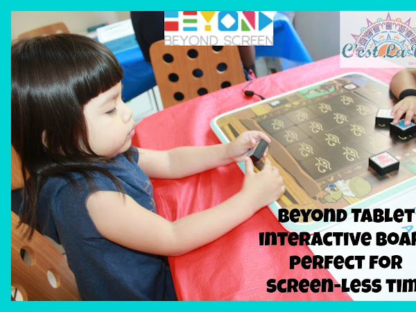 Beyond Tablet Interactive Board Perfect For Screen-Less Time