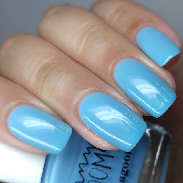 Penny Bloom Nail Polish - Blue Lagoon
