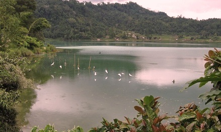 danau sebedang kalimantan barat