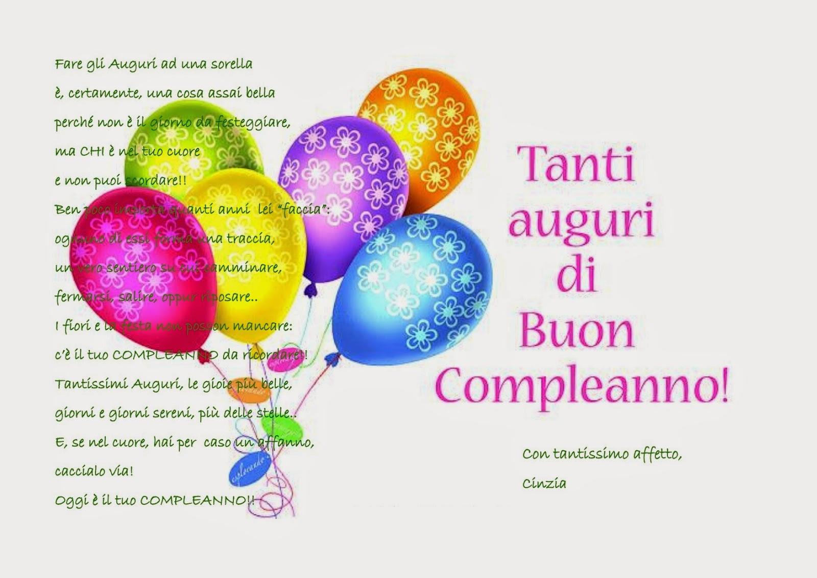 Compleanno Della Mia Sorella Parquetfloor
