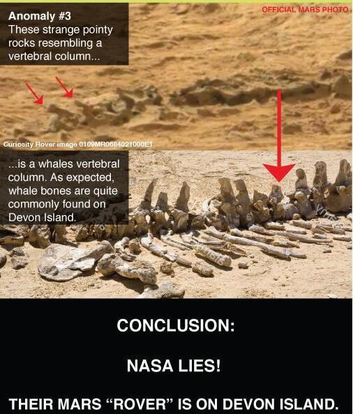 "Mars ""Rover"" On Devon Island, Canada? NASA Hoax? You Decide"