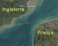 Canal da Mancha, França e Reino Unido