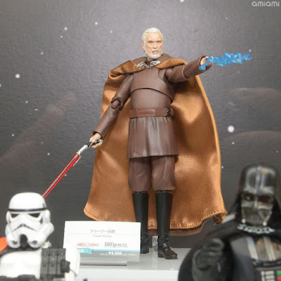 "Conde Dooku S.H.Figuarts de ""Star Wars: Revenge of the Sith"""