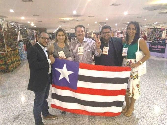 PREFEITO DE CHAPADINHA E SECRETÁRIA DE ASSISTÊNCIA SOCIAL PARTICIPAM DE EVENTO NACIONAL EM BELO HORIZONTE-MG