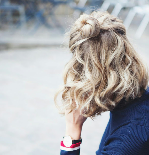 Teenage girl hairstyle