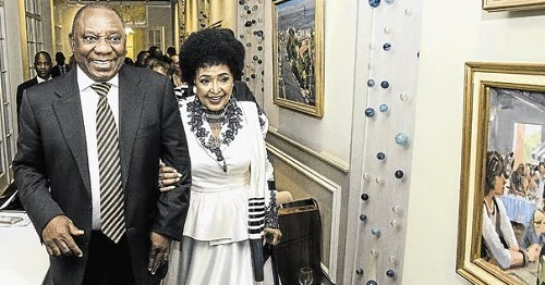 Welcome To Ladun Liadi's Blog: Winnie Mandela Hosts Guests ...