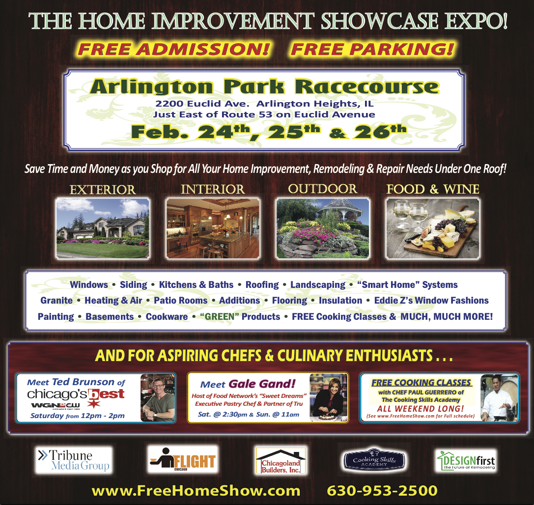 Once Again The Adt Custom Home Services Group Will Take To Road Exhibiting Our Latest Technology This Weekend We Re At Arlington Park Racecourse