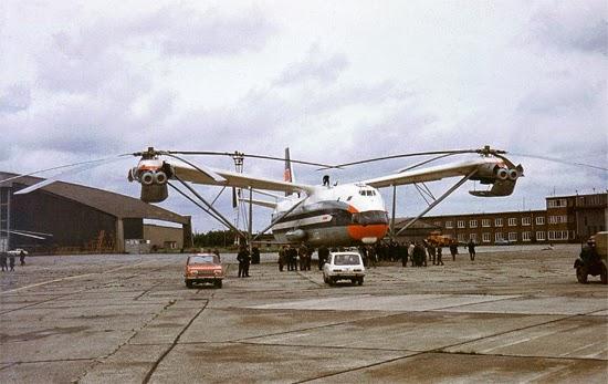 Helicóptero Mil Mi-12 - V12