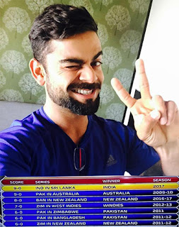 9 - 0 massive defeat in the face of India creeps into Cricket record books!