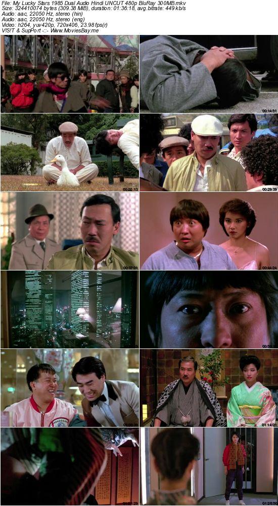 My Lucky Stars 1985 Dual Audio Hindi UNCUT 480p BluRay 300MB worldfree4u