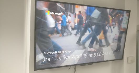 [Post Event] Microsoft Data Amp—where data gets to work meet-up