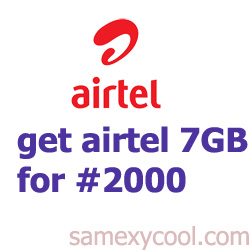 airtel 7GB for N2000