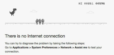 Google Chrome Juego Sin Conexión T-Rex