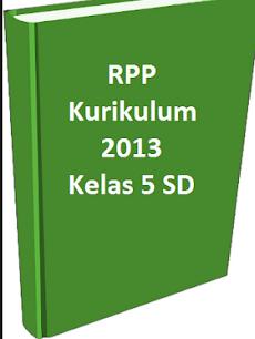 RPP Kelas 5 SD/MI Kurikulum 2013 Edisi Revisi 2017