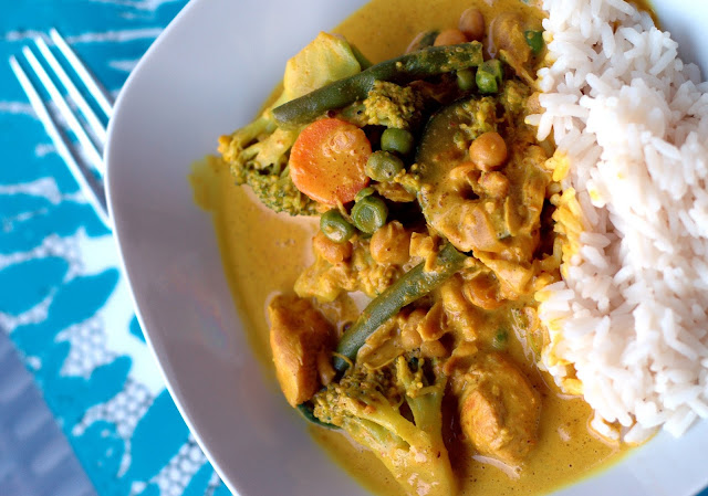 Curry zum Abendessen - What I eat in a day Juni 2016