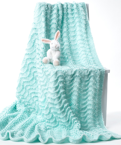 Easy Baby's Blanket - Free Pattern
