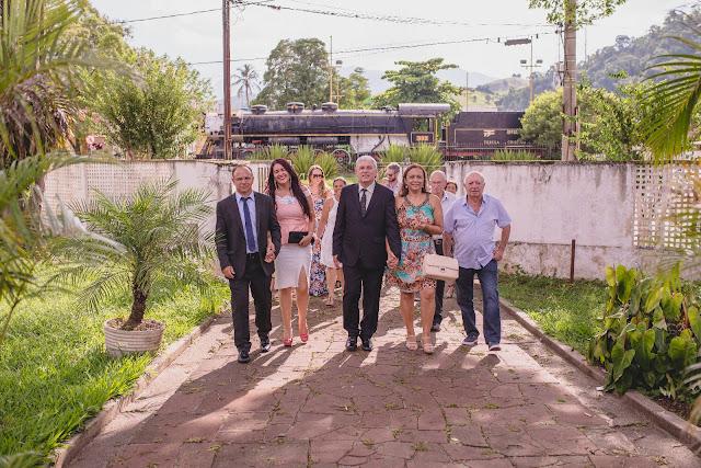 Após a posse, Peleco, Piá, amigos e familiares fizeram a tradicional visita ao Paço Municipal.
