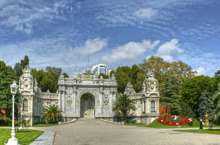 El Palacio de Dolmabahce, Estambul