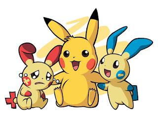 Mewarnai Gambar Pikachu