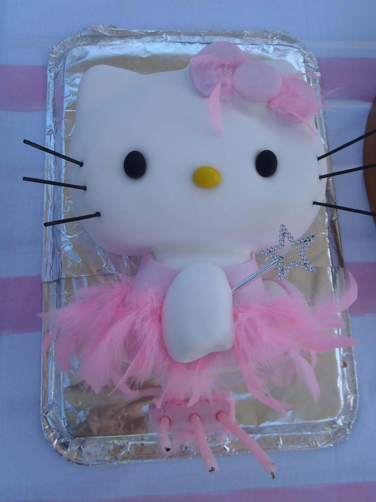 a7b0fdcdc LouSaysItsMeTime: Hello Kitty - Ballerina Cake