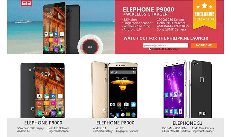 Elephone Lazada Philippines!