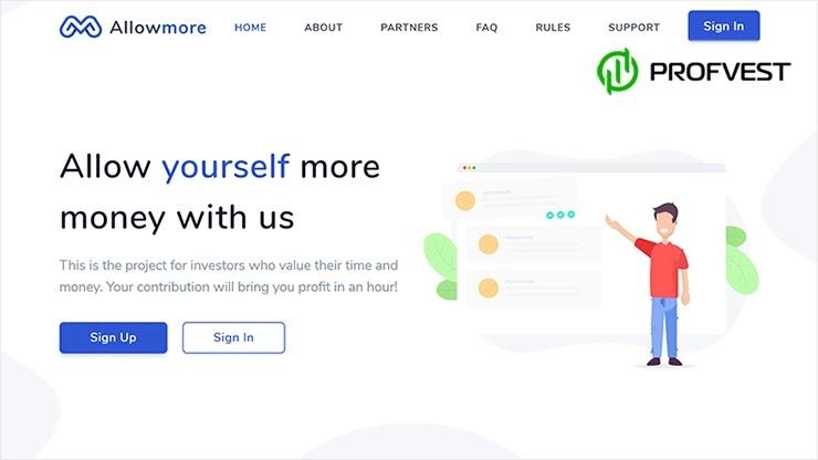 AllowMore обзор и отзывы HYIP-проекта