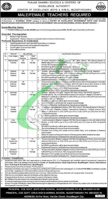 punjab-daanish-school-jobs-2020-application-form
