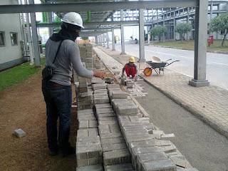 paving block area pabrik