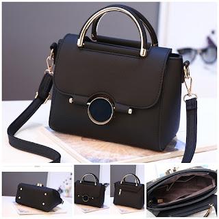 tas wanita batam termurah warna hitam