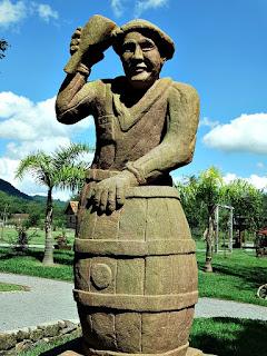Böettcher ou Fassbinder (Tanoeiro), Profissões dos Imigrantes Alemães no Parque Pedras do Silêncio, Nova Petrópolis