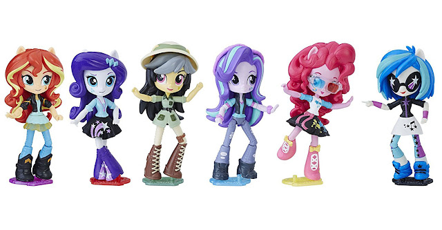My Little Pony Eg Minis Movie Collection Doll Mall Set