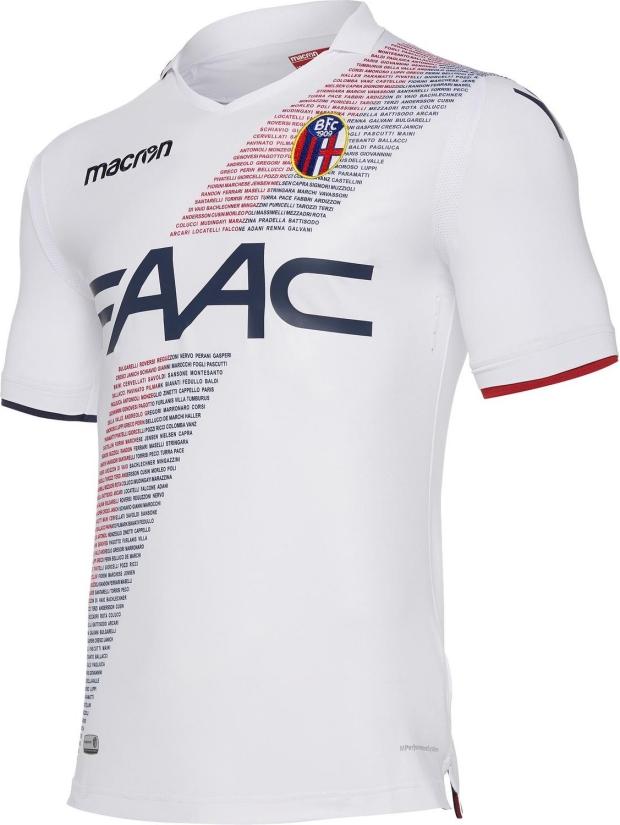 076ae8b189 Macron lança a nova camisa reserva do Bologna - Show de Camisas