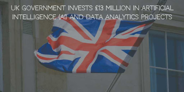 UK Government Invests £13 Million in Artificial Intelligence (AI) and Data Analytics Projects