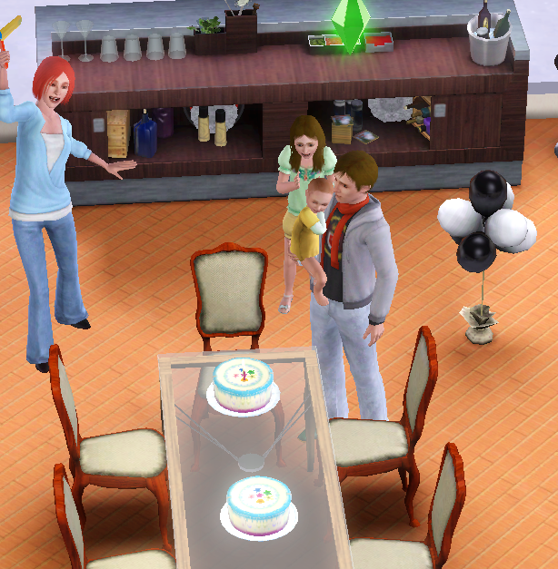 No Birthday Cake To Age Up Sim In Sims
