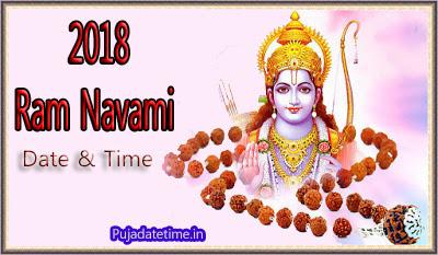 2018 Ram Navami Puja Date