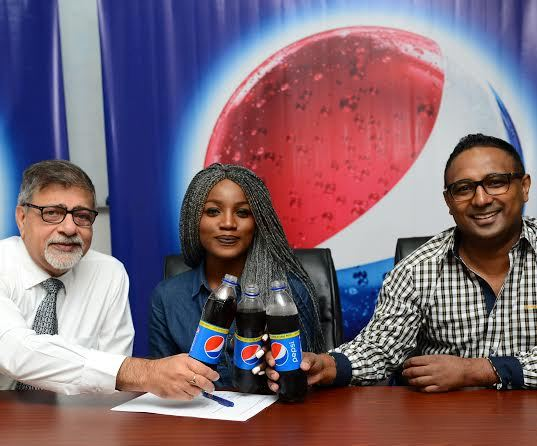 Seyi Shay Newest Pepsi Ambassador