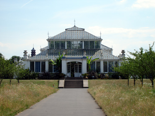 Temperate House in Kew Gardens, London