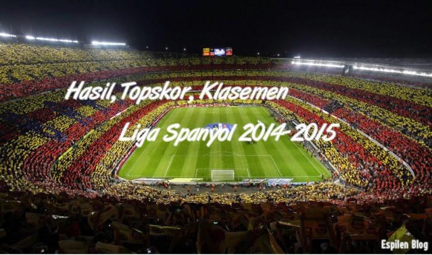 Salah satu liga di daerah Eropa dengan tingkat persaingan tersengit yaitu La Liga Spany Hasil, Topskor & Klasemen Liga Spanyol 2014-2015