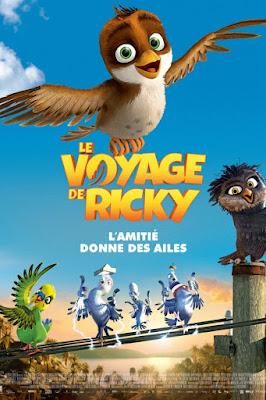 le voyage de ricky en dvd