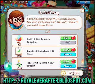 royal story biography quests