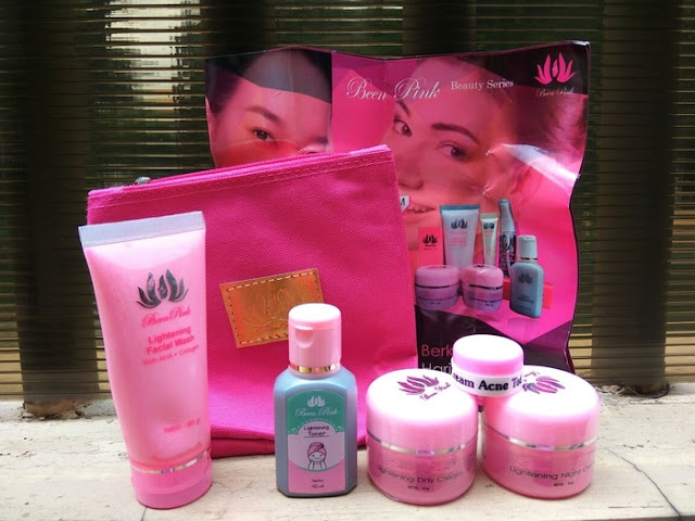 Cream Been Pink Paket Acne BPOM