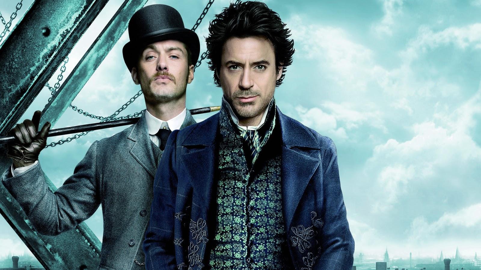 """Warner Bros contrata roteiristas para sequência de """"Sherlock Holmes"""""""