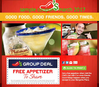 Chili's coupons march 2017
