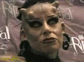 زوجة الشيطان مصاصة دماء حقيقية